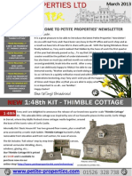 Petite Properties Newsletter March 2013