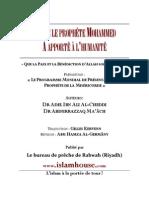 Ce  que  le  prophète   Mohammed   a  apporté  à  l'humanité