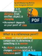 7th Grade-Chapter 1 Motion Powerpoint Notes