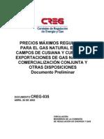 Doc Creg 018 Precio Gas Cusiana Cupiagua 01