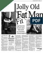 Santa Charlie, Keeping Fit, Sun Media (Dec. 21, 2009)