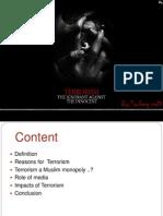 Presentation on Terrorism
