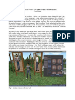 The Rhetoric of Second Life and the Politics of Globalization