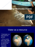 Conserving Fresh Water Fishes