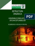Estructura Organizacional de