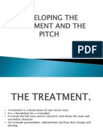 Developing the Treatment and the Pitch