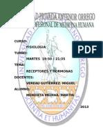SEMINARIO DE RECEPTORES Y HORMONAS