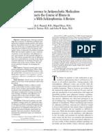 Partial Adherence to Antipsychotics