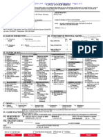 Civil Cover Sheet