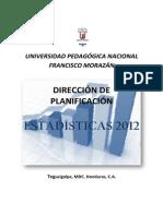 Estadisticas Institucionales 2012 i Parte