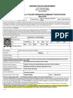 Juan E Contreras Sexually Violent Predator Notification
