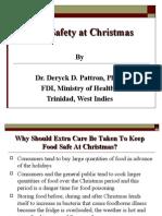 Food Safety at Christmas