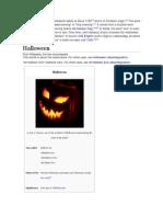 The Word Halloween