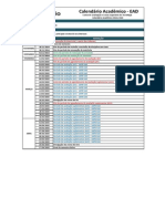 Calendario Geral EAD 2014.4 Semestral[1]