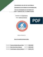 Anexo 2 Checklist-Auditoria de Base de Datos