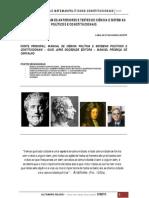 RESOLUÇÃO DE EXAMES ANTERIORES E TESTES DE CIÊNCIA E SISTEMAS POLÍTICOS E CONSTITUCIONAIS
