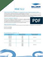 ASHRAE 52.2-2007 Español