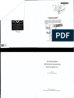 Ramesside Administrative Documents