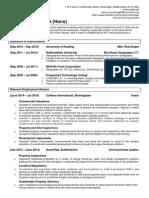Curriculum Vitae (2014, Property)