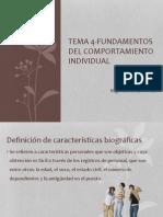 Tema 4-Fundamento Individual