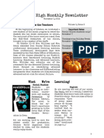 foothillhighmonthlynewsletter-november2014