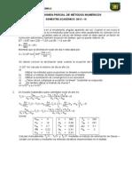 Primer Examen Parcial 2013 - III