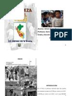 La Pobrerza en El Peru