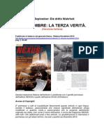 11th of September-The Third Truth NEXUS Magazine Italian