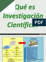 Investigación científica MIC Jakcson