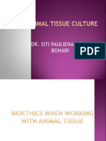 Bioethics When Working With Animal Tissue (3b)