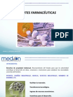 Patentes farmaceuticas
