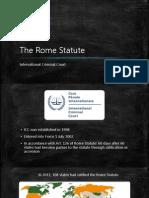 The Rome Statute