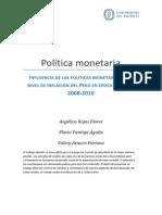 12_Política Monetaria Final_Evaluado x Quike