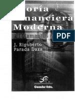 Teoria Financiera Moderna Fundamentos y Metodo.pdf