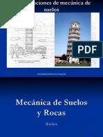 mecánica de suelos y rocas