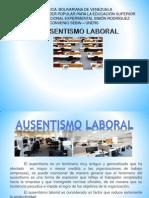 AUSENTISMO LABORAL