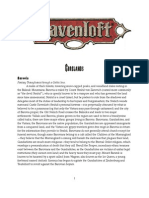 Ravenloft Brief Gazetteer
