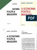 A Economia Política Brasileira  MANTEGA