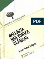 Gallaecia Nas Fontes Clásicas. Antonio Balboa Salgado - PDF