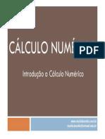 1 - Introdução Ao Cálculo Numérico