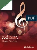 Notion5 UserGuide