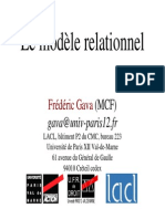 Cours Relation