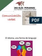 Comunicacion Verbal