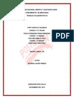 Aportes Trabajo Colaborativo 3 Fundamentos de Mercadeo (2) UNIVERSIDAD NACIONAL ABIERTA Y A DISTANCIA