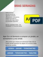 PALABRAS SERIADAS. Intervencion