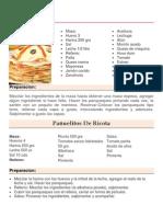 Selección de Recetas de Cocina y Postres