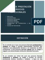 Contrato de Servicios Profesionales