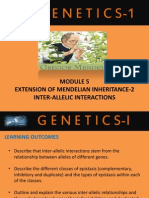 7. Inter-Allelic Interactions