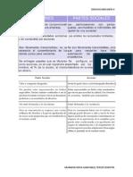 Características Comunes de Las Partes Sociales y de Las Acciones