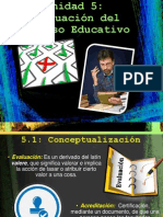 Evaluacion del Proceso Educativo